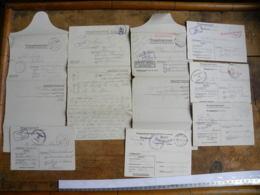 Correspondance Prisonnier De Guerre, Lot De  24, Stalag IVG Et IA Pour Blou (49) - Emile Marsais Oschatz, Eugène Henry - Documentos