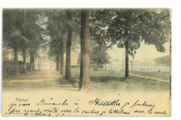 CPA BELGIQUE NAMUR BOULEVARD DE LA PLANTE - Belgio