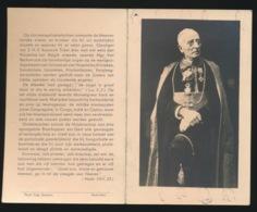 BISSCHOP CARPASIA - EUGENIUS VAN RECHEM - BEVERE 1858 - GENT 1943  2 AFBEELDINGEN - Overlijden