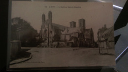 CPA - 22. LAON L'église St Martin - Laon