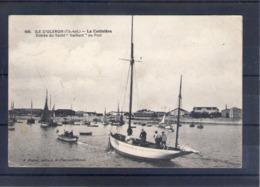 """17. Ile D'oléron. La Cotinière. Entrée Du Yacht """"vaillant"""" Au Port - Ile D'Oléron"""