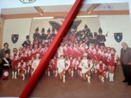 PHOTO MAJORETTES FANFARE COMMUNE LIBRE SAINT JEAN SAINT QUENTIN  AISNE 02 - Reproductions