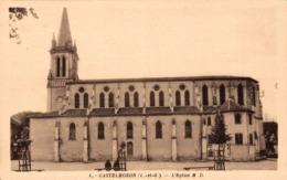 9463-2019    CASTELMORON   L EGLISE - Castelmoron