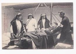 CROIX ROUGE 14/18-  Union Des Femmes De France- Transport Des Blessés Par Eau En Péniche-ambulance Sur Le Pont Alexandr - Oorlog 1914-18