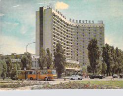 KIEV - Ukraine - SLAVUTICH HOTEL (bus Autobus Autocar Auto Voiture).* PRIX FIXE - Ukraine