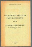 L. HERLANT, Catalogue Des Marques Postales De La Flandre Orientale, Bruges, 1972, 66 + 2 Pp. .  Etat Neuf. - MX-4 - Philatelie Und Postgeschichte