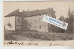 CHAROLLES : L'Hotel De Ville . Précurseur. édit Melle Plassard. - Charolles