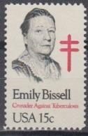 USA 1980 Emily Bissell 1v ** Mnh (45020C) - Ongebruikt