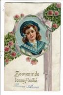 CPA-Carte Postale Belgique- Nouvel An- Souvenir De Bonne Amitié En 1911 VM8351 - Nieuwjaar