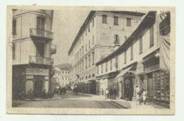SALUTI  DA SAN REMO - VIA VITT. EMANUELE 1924   VIAGGIATA  FP - San Remo