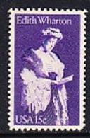 USA 1980 Edith Wharton 1v ** Mnh (45020D) - Ongebruikt
