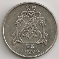Moeda Macau/Portugal - Coin Macao 1 Pataca 1982 - MBC - Macau