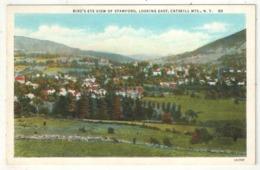 Bird's-Eye View Of Stamford, Looking East, Catskill Mts., NY - Catskills