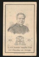 LITHO -  BISSCHOP BRUGGE - JOANNES FAICT - LEFFINGE 1813 - PALAIS BISSCHOP 1894  2 AFBEELDINGEN - Décès