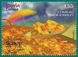 España. Spain. 2019. América UPAEP. Comidas Tradicionales. Paella - 1931-Hoy: 2ª República - ... Juan Carlos I