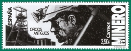 España. Spain. 2019. Oficios Antiguos. Minero - 2011-... Nuevos & Fijasellos