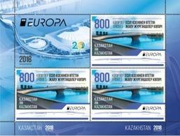 Kazakhstan 2018. Europa - CEPT. Bridges. MNH - 2018