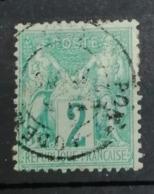 N 62  Type I Côte 350€  Pas Aminci - 1876-1878 Sage (Type I)