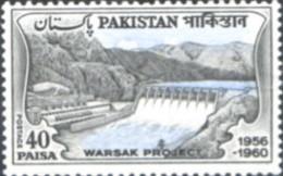 Ref. 214506 * NEW *  - PAKISTAN . 1961. WARSAK RESERVOIR. EMBALSE DE WARSAK - Pakistán