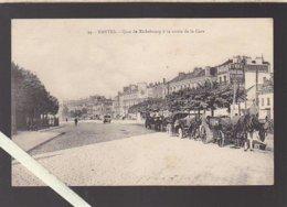 Nantes / Quai De Richebourg à La Sortie De La Gare, Les Voitures Attelées Attendent Les Voyageurs ! - Nantes