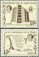 Ref. 160797 * NEW *  - PANAMA . 1991. 50TH ANNIVERSARY OF THE RIGHTS OF PANAMANIAN WOMEN AND SOCIAL SECURITY. 50 ANIVER - Panamá