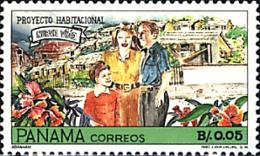 Ref. 95728 * NEW *  - PANAMA . 1992. NEW LIFE HOUSING PROJECT. PROYECTO DE CONSTRUCCION DE VIVIENDAS PARA UNA NUEVA VIDA - Panamá