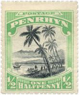 Ref. 605377 * HINGED *  - PENRHYN . 1920. DIFFERENT CONTENTS. MOTIVOS VARIOS - Penrhyn