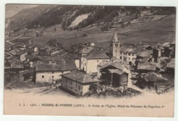 Suisse // Schweiz // Switzerland //  Valais // Bourg-Saint-Pierre (marque De Pli ) - VS Wallis
