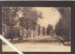 Nantes / Chantenay / Saint-Clair / L'avenue Pasteur, Tramway / Coll M.R.G. - Nantes