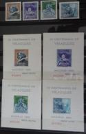 &155A&ESPAÑA, SPAIN, EDIFIL 1344/1347+SH, MICHEL 1239/1242+BL 15/18, YVERT BF 21/24. MNH**. VELAZQUEZ, PAINTING. - 1931-Today: 2nd Rep - ... Juan Carlos I
