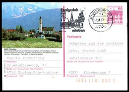 74067) BRD - P 138 - R5/80 - 4722 OO Gestempelt - 8962 Pfronten, Teilansicht - Illustrated Postcards - Used