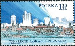 Ref. 127731 * NEW *  - POLAND . 2003. 750 ANIVERSARIO DE LA CIUDAD DE POZNAN - Nuevos