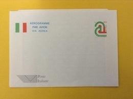 1995 ITALIA AEROGRAMMA POSTALE NUOVO NEW MNH** ORDINARIO TRICOLORE 850 LIRE - Entiers Postaux