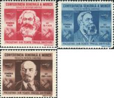 Ref. 599119 * HINGED *  - ROMANIA . 1945. IN FAVOUR OF THE GENERAL CONFEDERATION OF LABOUR. A FAVOR DE LA CONFEDERACION - 1918-1948 Ferdinand, Charles II & Michael
