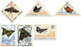 Ref. 76823 * NEW *  - ROMANIA . 1960. BUTTERFLIES. MARIPOSAS - 1948-.... Repúblicas