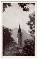 CASTELLO VALTRAVAGLIA - IL MAESTOSO CAMPANILE PARROCCHIALE - CASTELVECCANA - LUINO - 1957 - Vedi Retro - Formato Piccolo - Luino