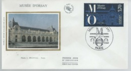 France - FDC 1er Jour - 9 DEC 1986 - MUSÉE D'ORSAY - 1980-1989