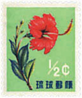 Ref. 300470 * HINGED *  - RYU KYU . 1959. FAUNA AND FLORA. FAUNA Y FLORA - Ryukyu Islands