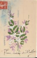 Bouquet De Gui.Carte En Cellulo - Giftige Pflanzen