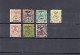 NOUVELLE CALEDONIE   -    NEUF X -   -  Y Et T  N° 81 à 87 - Unused Stamps