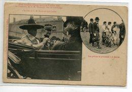 CAMBODGE Roi S M SISOWATH  Fetes à Nancy Les 6 -7 - 8 Juillet 1906  Les Princes Et Princesses     D16 2019 - Cambodia