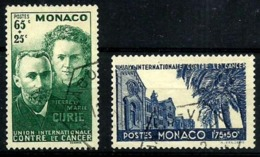 Mónaco Nº 167/8 Usados. Cat.28€ - Used Stamps