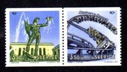 SUEDE 1993 - YT 1755/1754 - Facit 1790/1789 - NEUFS ** LUXE/ MNH - 2 Valeurs - Tourisme Dans Les Pays Nordiques - Neufs