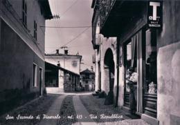 Italie, Turin, San Secondo Di Pinerolo, Via Repubblica (413) 10x15 - Italia