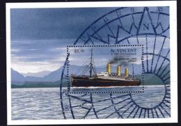 St. Vincent & Grenadines 1996 Ship MS, MNH, SG 2484 (SHI) - Boten