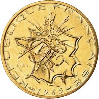Monnaie, France, Mathieu, 10 Francs, 1985, Paris, FDC, Nickel-brass - France