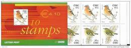 Irlande 2002 Carnet N°1463A  Neuf ** Oiseau Roitelet Et Pinson - Booklets