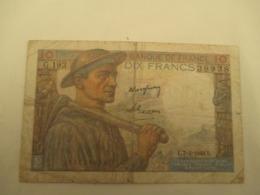 10 Franc Mineur - 1871-1952 Gedurende De XXste In Omloop
