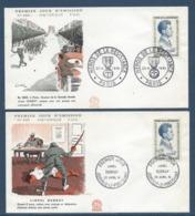 France - FDC - Premier Jour - Lionel Dubray - Paris - 1961 - 1960-1969