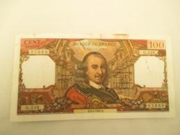 100 Franc Corneille - 1955-1959 Sovraccarichi In Nuovi Franchi